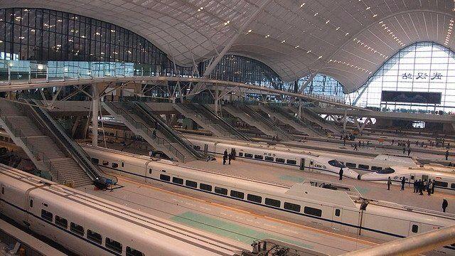 Wuhan Railway Station - main hall - Arep / MaP3