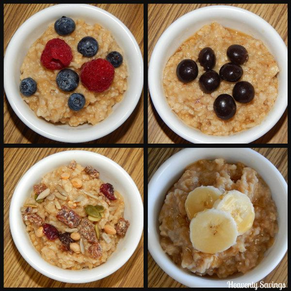 check out all these quaker instant oatmeal topping ideas what do you put on your