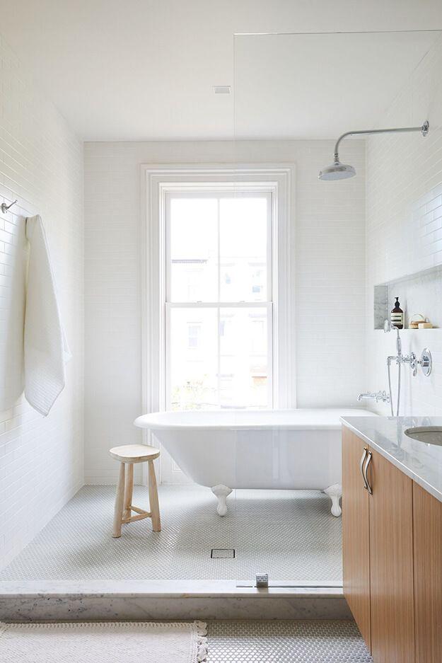 A Renovated Brooklyn Townhouse Bathrooms Remodel Wet Rooms Wet Room Bathroom