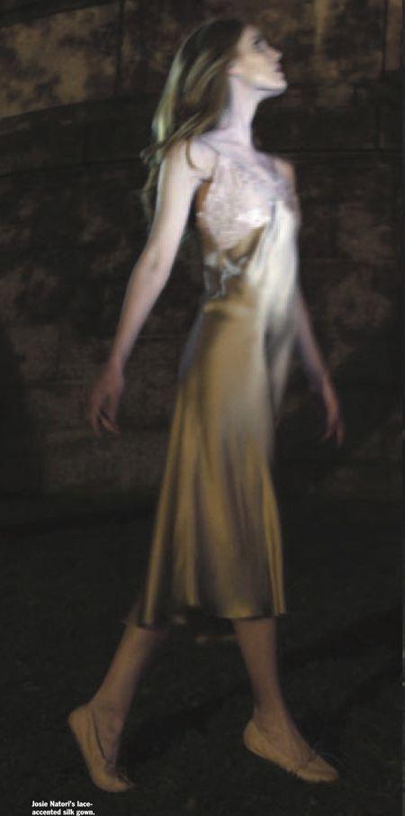 #JosieNatori lingerie silk #EastMeetsWest