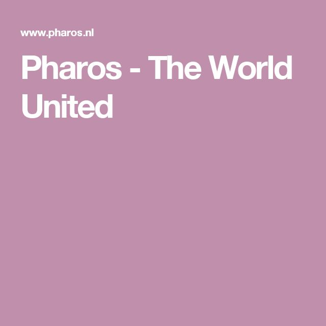Pharos - The World United