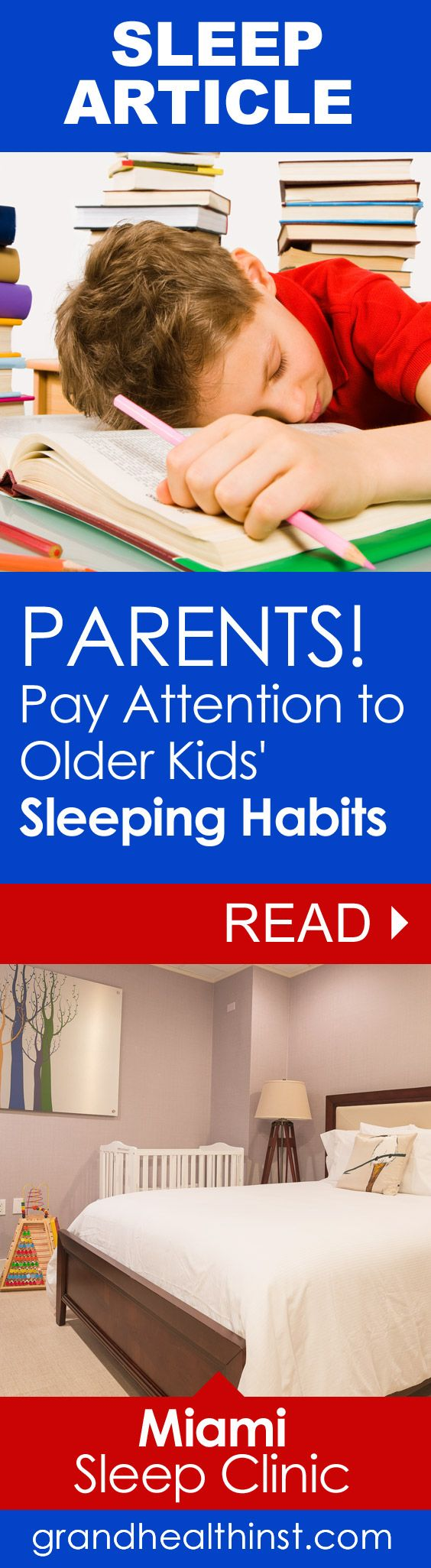 Sleep supports healthy growth and development. Children who sleep less than the recommended number of hours suffer an increase in behavior, learning and attention disorders... http://www.grandhealthinst.com/