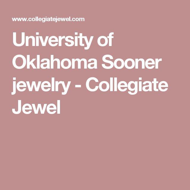 University of Oklahoma Sooner jewelry  - Collegiate Jewel