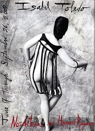 Crystal Renn photographed by Ruven Afanador wearing Isabel Toledo for June 2009…