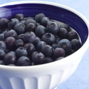 Blueberries -  the antioxidants in them may help ward off muscle fatigue by mopping up the additional free radicals that muscles produce during exercise, according to recent research out of New Zealand.