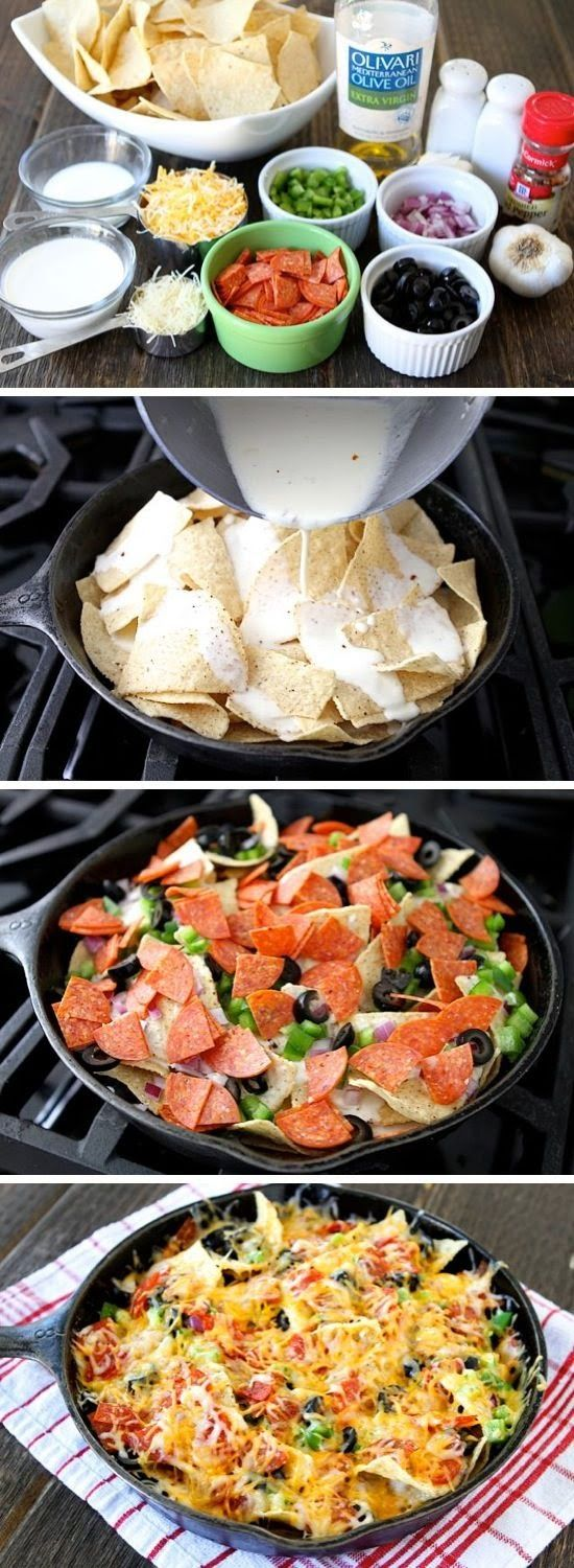 FooF Drink: Pizza Nachos