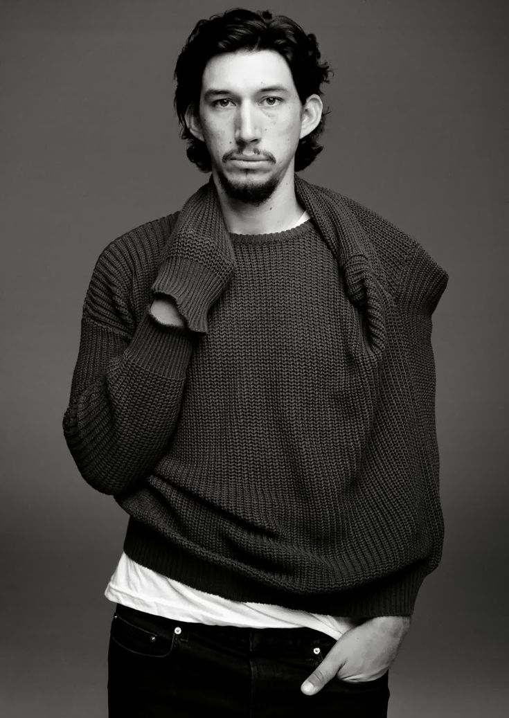 Adam Driver x So It Goes magazine issue 2