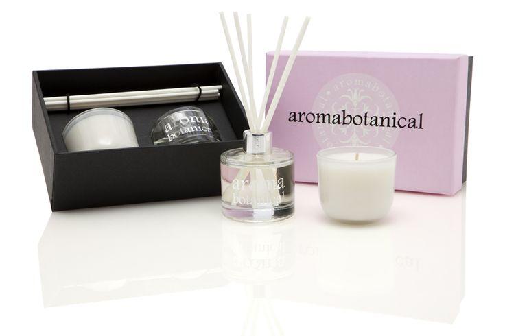 Pink Freesia & Rose Mini Gift Set #aromabotanical