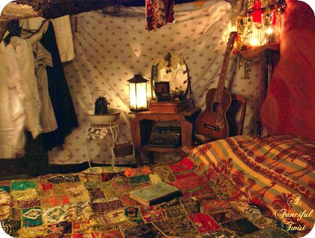 boho bedroom outside - Bohemian Style Bedroom Decor