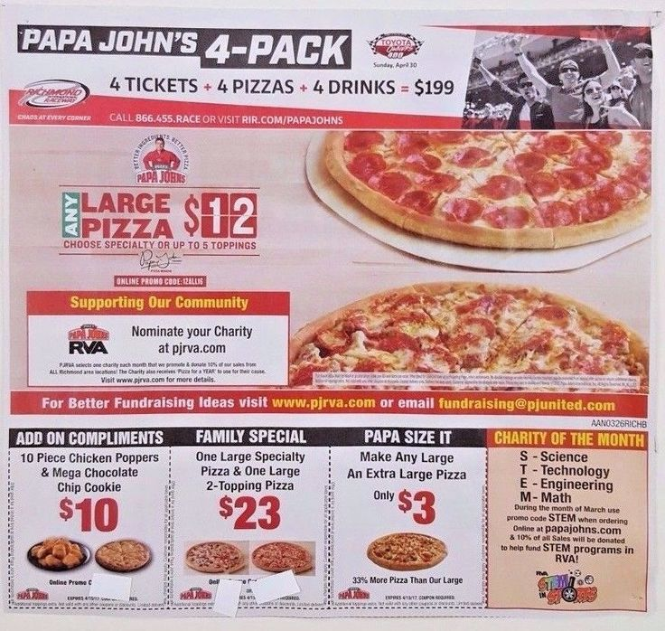 PAPA Johns COUPONS Pizza DEALS Save SAVINGS Promo CODES Online ORDER Chicken WOW