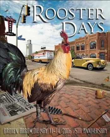 Rooster Day celebration - Broken Arrow, Oklahoma