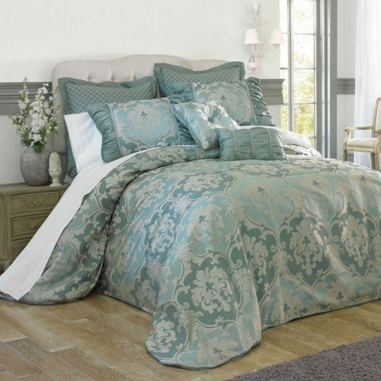 Candice Blue Bedspread Collection 3000 Annas Linens