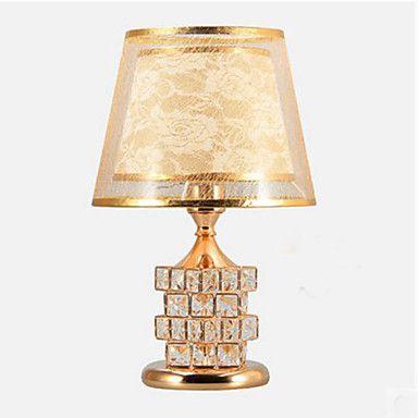 Crystal European Style Luxury Wedding Table lamp