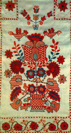 ukrainian style - rushnyk( Ukrainian embroidered towel)