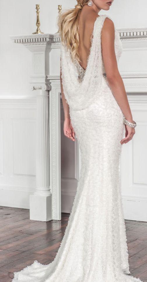 Featured Dress: Muse by Callie Tein from Modern Trousseau; Wedding dress idea.