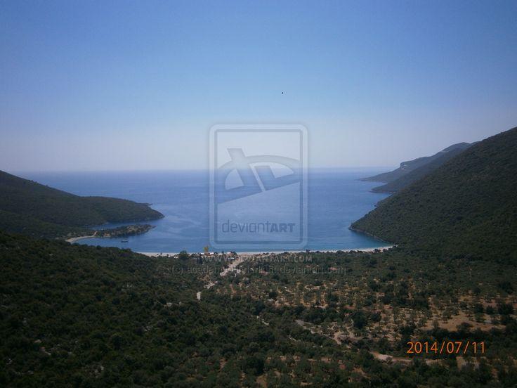 Agios Fokianos Beach by academyofinnerlight.deviantart.com on @deviantART