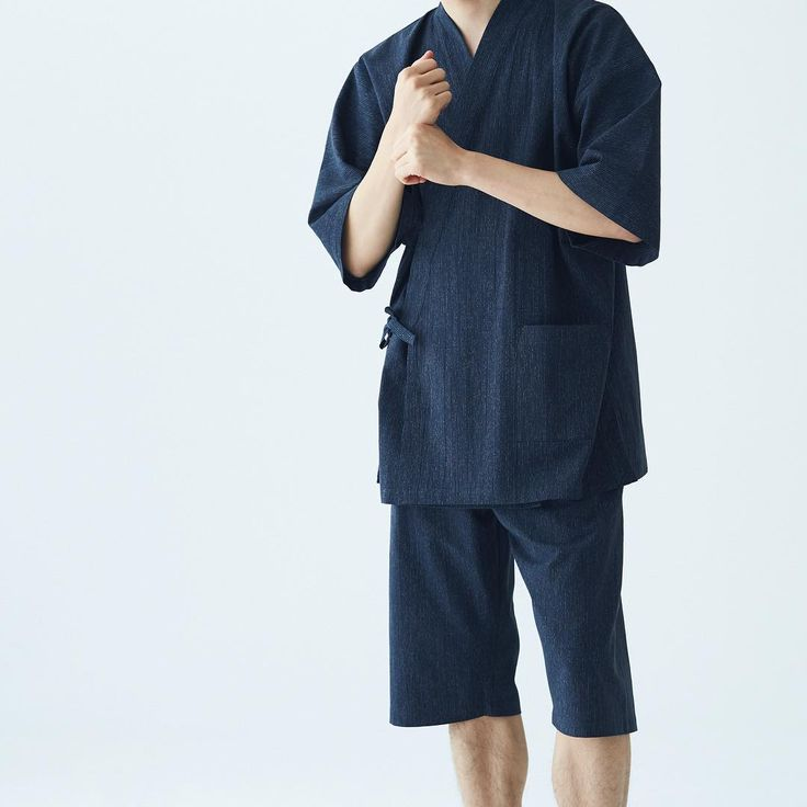 """296 Likes, 13 Comments - MUJI Australia (@mujiaus) on Instagram: """"The traditional Japanese Jinbei lounge set in a new organic cotton design will help you survive the…"""""""