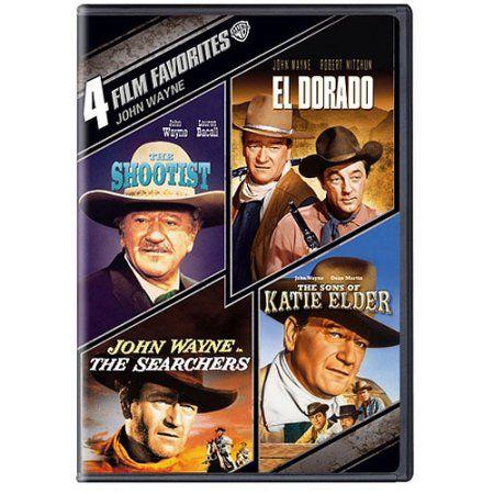 4-Film Favorites: John Wayne - The Shootist / True Grit / The Sons Of Katie Elder / El Dorado (Widescreen) - Walmart.com