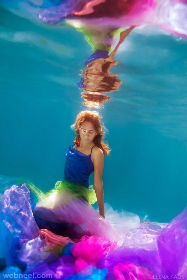 25 Beautiful Underwater Photography examples by Elena Kalis - http://webneel.com/underwater-photos