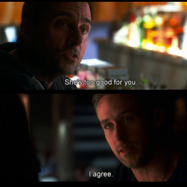 Crazy Stupid Love ... Right now my favorite movie