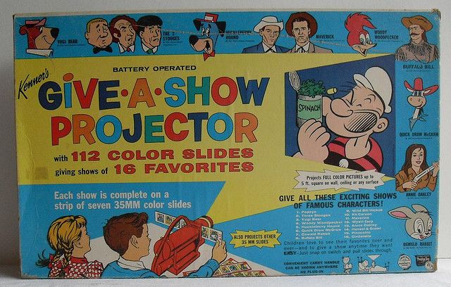 1960s Kenner's Vintage 1960 GIVE A SHOW PROJECTOR TOY by Christian Montone, via Flickr