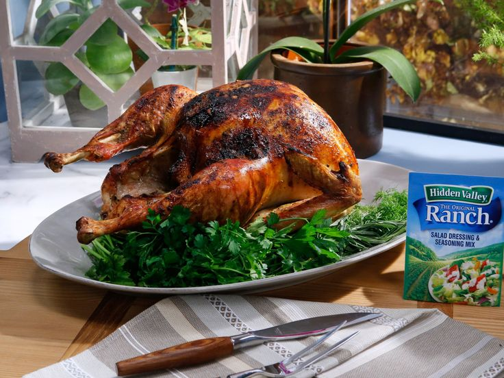 Ranch Turkey recipe from Katie Lee via Food Network