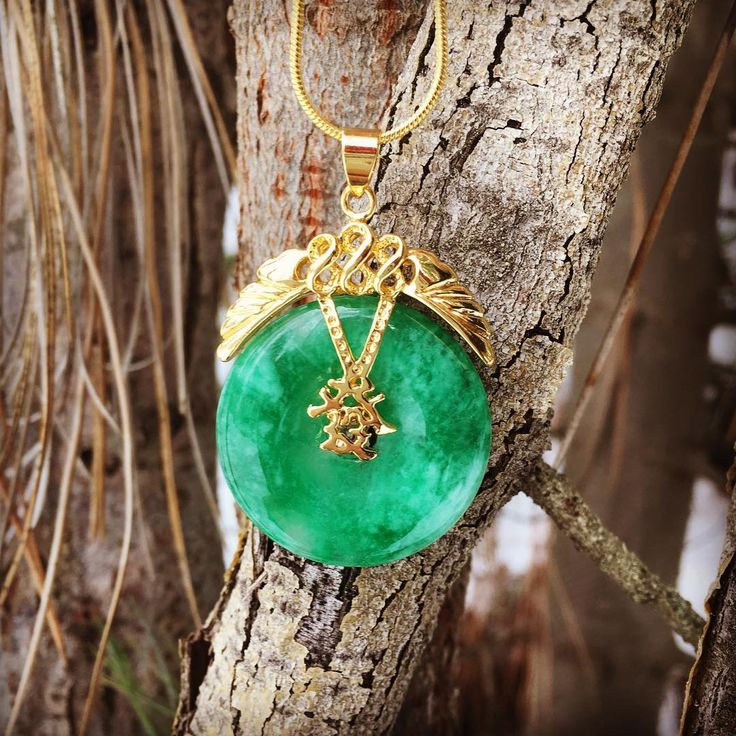 """7 Likes, 1 Comments - Magikal Mountains Jewelry (@magikalmountainsjewelry) on Instagram: """"Good luck Jade necklace is in our Serenity Collection.. #chinesenewyear #luckyjade…"""""""