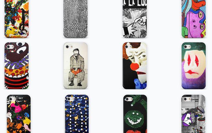 Compre cases de celular com impressão total, toque aveludado e opções ilimitadas de arte e design. Para iPhone 6 Plus, iPhone 6, iPhone 5/5S, iPhone 5c, iPhone 4/4S, Galaxy S5, Galaxy S5 Mini, Galaxy S4, Galaxy S3, LG G3...