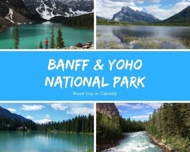 Banff en Yoho National Park maken onderdeel uit van de Canadese Rocky Mountains. Beide parken grenzen aan elkaar, maar Banff ligt in de provincie Alberta en Yoho in Brits-Columbia. We huurden een auto, kochten een tentje, sloegen een hele voorraad eten in en reden vanaf Calgary Airport in een paar uurtjes naar de Rocky Mountains. De Rockies is een gebied dat je met geen enkele foto of beeld kan vastleggen. Iets wat je gewoon met je eigen ogen moet zien...