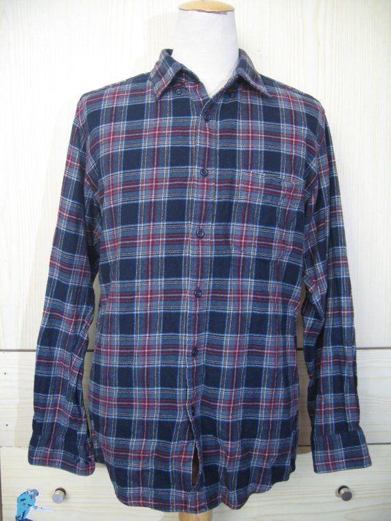 Best Men JackSouth Causal Shirt Lumberjack Brushed Check Cotton Work Top S-XL