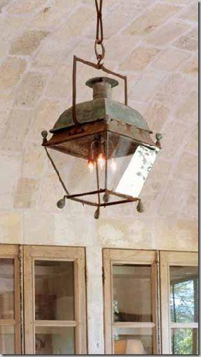 antique lantern ~ Chateau Domingue