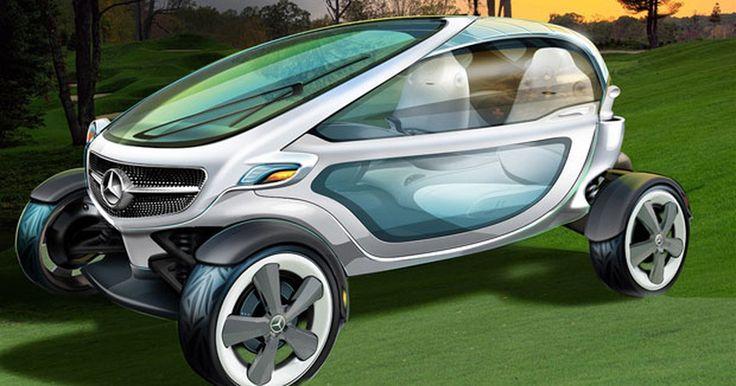 Mercedes-Benz cria carrinho de golfe de luxo