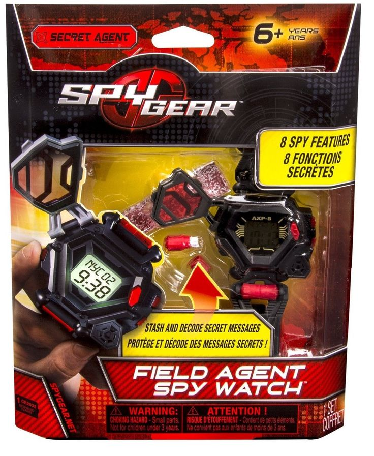 Just listed our new Spy Gear Field Ag...  . Check it out http://www.offthewalltoysandgifts.com/products/spy-gear-field-agent-spy-watch-w-8-spy-tools?utm_campaign=social_autopilot&utm_source=pin&utm_medium=pin
