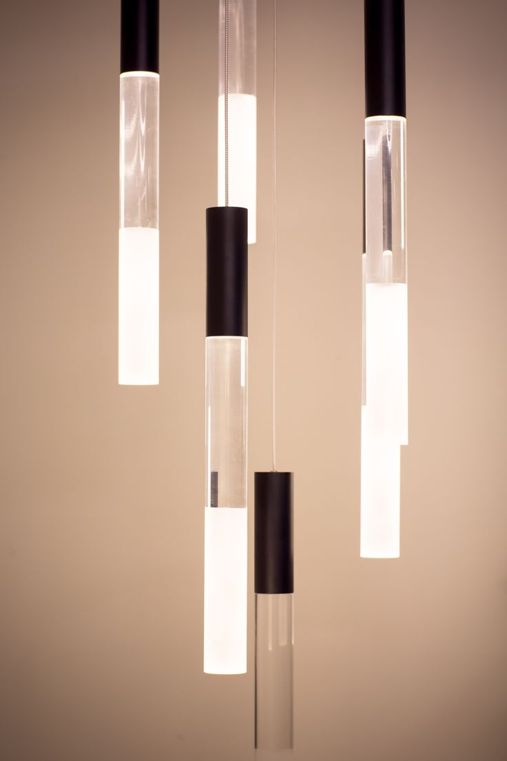 Darkon Lighting Tall Boy Glass Icicle LED Light #darkonlighting #LED #lightart #lightingdesign