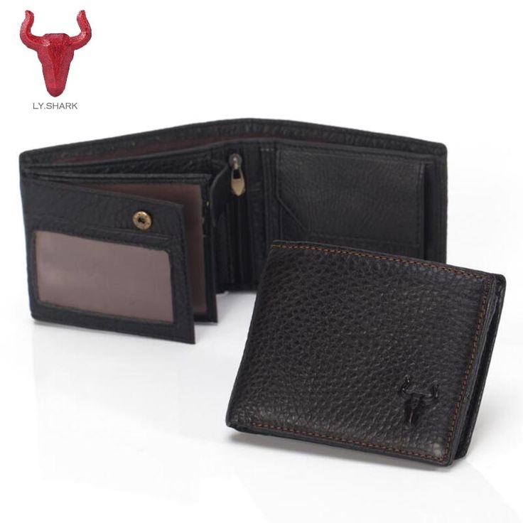 13.77$  Watch here - http://alia00.shopchina.info/go.php?t=32804941026 - LY.SHARK Short Small Cow Genuine Leather Male Wallet Men Purse Coin Men Photo Holder Card Wallet Zipper Bag Black Multifunction  #magazineonline