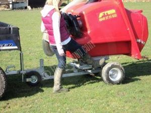 The PC1000 Swivel Paddock Cleaner compared to a fixed chassis paddock cleaner reduces the poo picking time by up to 50%. It is mounted on a circular bearing similar to the type used in construction on mini diggers. This design enables you to poo pick in a 7.5M circle before moving the ATV quad bike or other vehicle. This paddock cleaner has become our most popular tow-able model and is ideal for horse owners. For more info click: ​http://www.fresh-group.com/paddock-cleaner.html