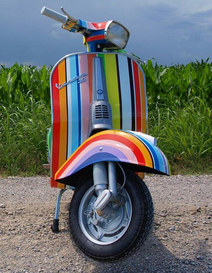 striped  Vespa