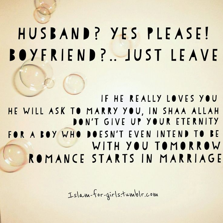 What a muslim women should think of