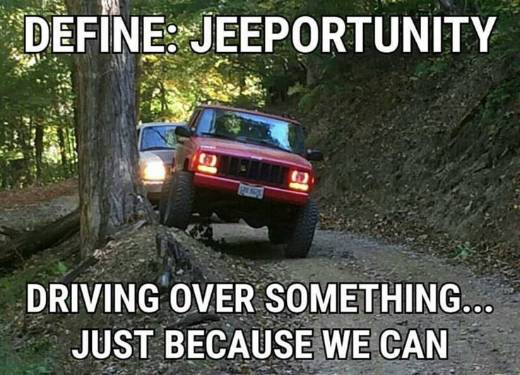 See this Instagram photo by @itsajeepmeme • 6,522 likes