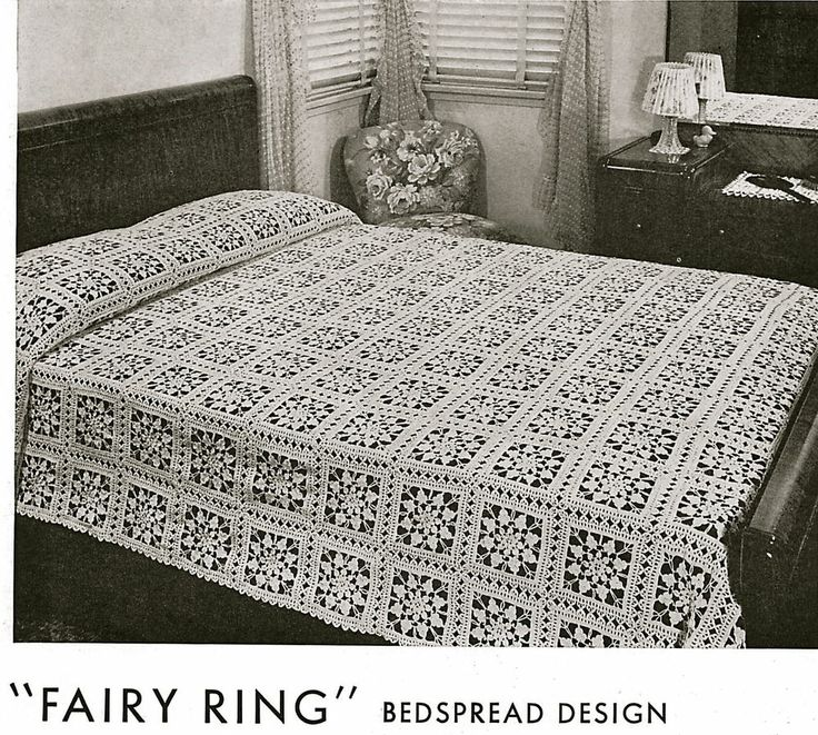 462 best Crochet - Bedspreads images on Pinterest | Encajes de ...