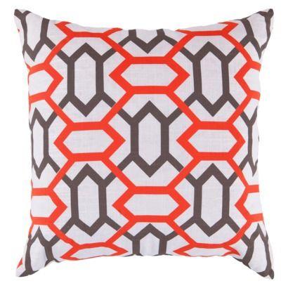 Geometric Links Toss Pillow - 18x18
