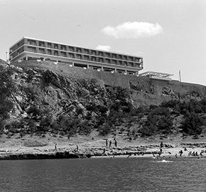 1960 Xenia Hotel, Nafplio   Ioannis Triantafyllidis   Tourism Landscapes
