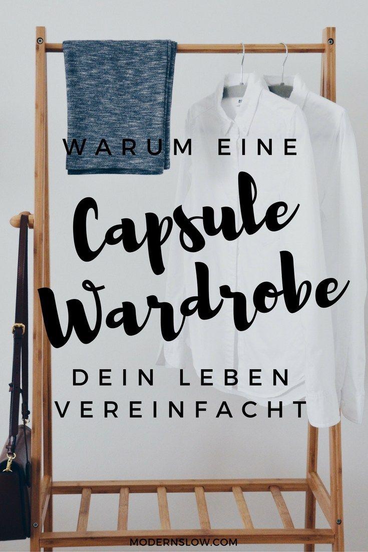 Eine Capsule Wardrobe bedeutet für Dich weniger zu investieren – weniger Geld, weniger Zeit, und weniger Energie. Erfahre mehr darüber, wie Du selbst eine Capsule Wardrobe erstellen kannst.   modernslow.com