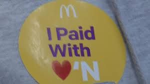 Cup a Joe with Jesus: McDonald's: Pay with Lovin' Story!