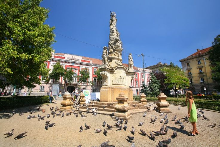 Timisoara, Across the town centre is the picturesque Habsburg-era Piata Unirii, so-named for the imposing sight of the Romano-Catholic and Serbian Orthodox Cathedrals ...