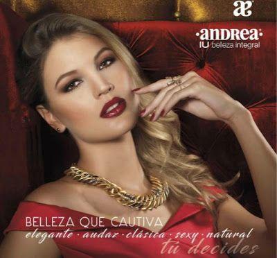 Cosmeticos IU Andrea 2016. Catalogo con productos de belleza, bisuteria, lentes de sol, relojes, fragancias. IU de Andrea Mexico