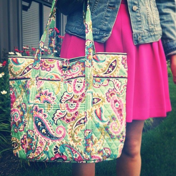 Pastel perfection: the Vera Bradley in Tutti Frutti