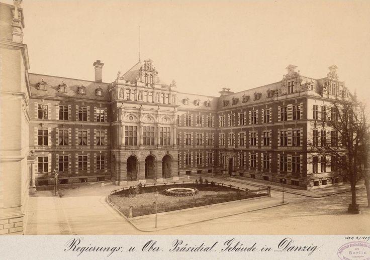 Senat Wolnego Miasta Gdańska (Nadprezydentura), Gdańsk - 1887 rok, stare zdjęcia