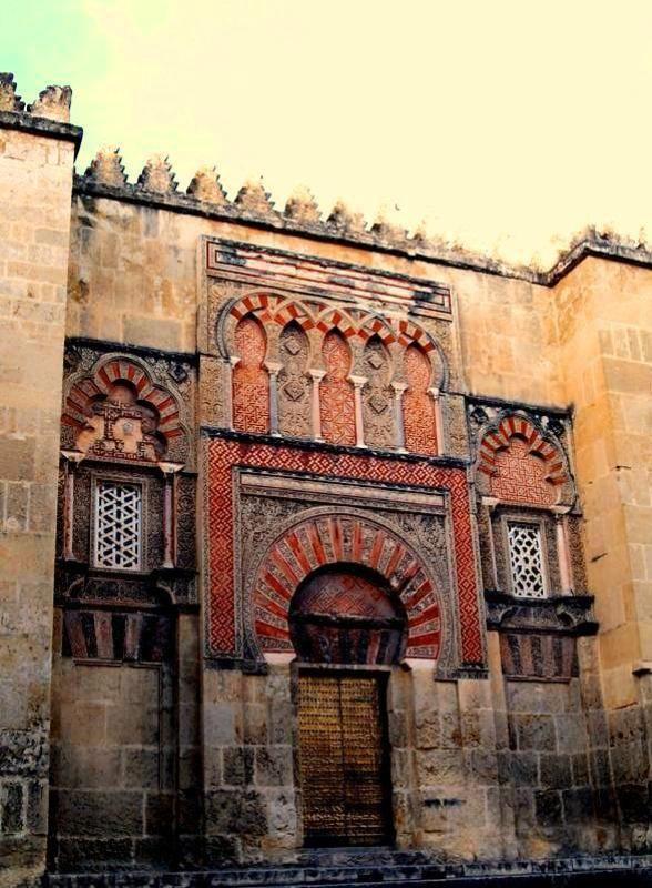 Puerta de San Esteban en la Mezquita de Córdoba.