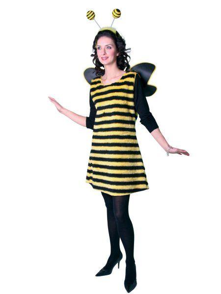 """https://11ter11ter.de/58862165.html Kostüm """"Hummel"""" für Frauen #Karneval #Fasching #Mottoparty #11ter11ter #Outfit #Kostüm #Partnerkostüm #Twins #Biene #Hummel"""